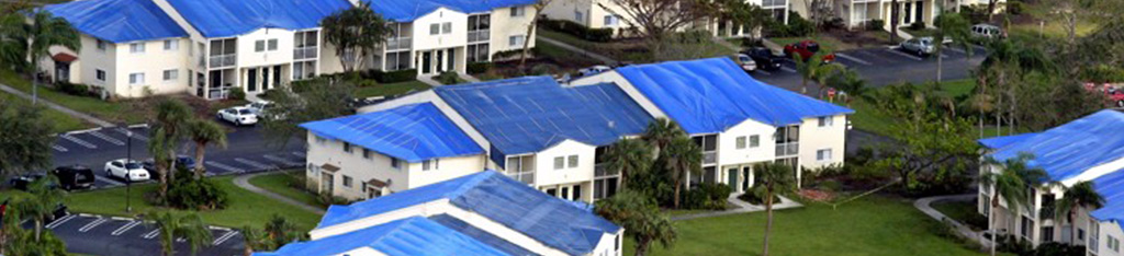 hurricane damage to roofs in FL